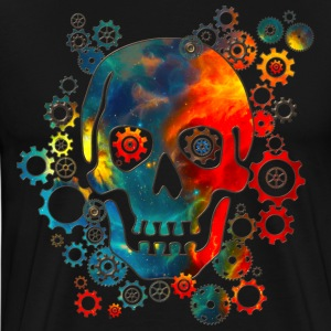 Skull, Space Pirate, Galaxy, Cosmos, Universe T-Shirts - Men's Premium T-Shirt