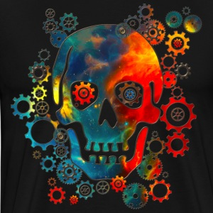Skull, Space Pirate, Galaxy, Cosmos, Universe Tee shirts - T-shirt Premium Homme