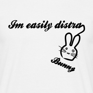 I'm Easily Distracted Bunny - Men's T-Shirt