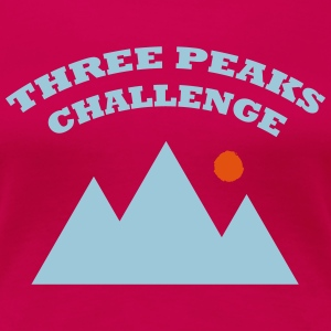 Three Peaks Challenge - Women's Premium T-Shirt