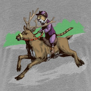 Snow Cat Jockey T-Shirts - Women's Premium T-Shirt