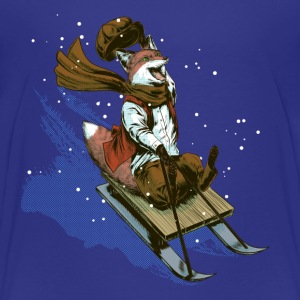Urchin sledge fox Shirts - Kids' Premium T-Shirt