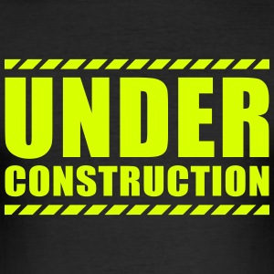Under construction - Slim Fit T-skjorte for menn
