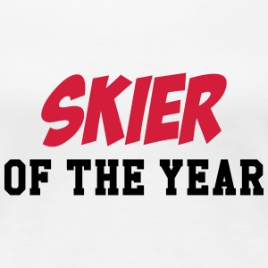 Skier of the year T-shirts - Vrouwen Premium T-shirt