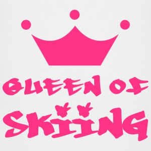 Queen of Skiing Tee shirts - T-shirt Premium Enfant