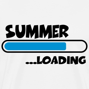 Summer loading T-skjorter - Premium T-skjorte for menn