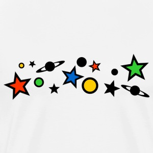 Colourful Universe T-Shirts - Men's Premium T-Shirt
