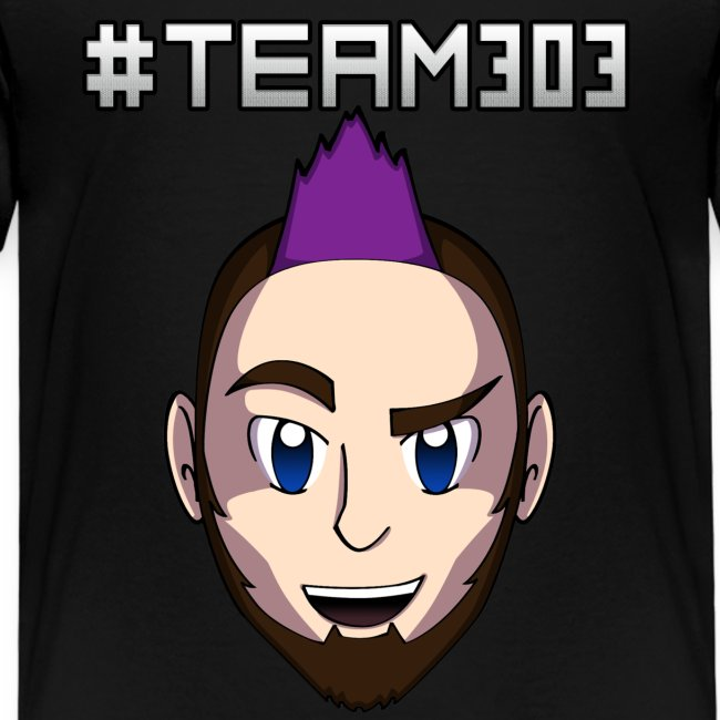 """#Team303"" Kids T-Shirt"