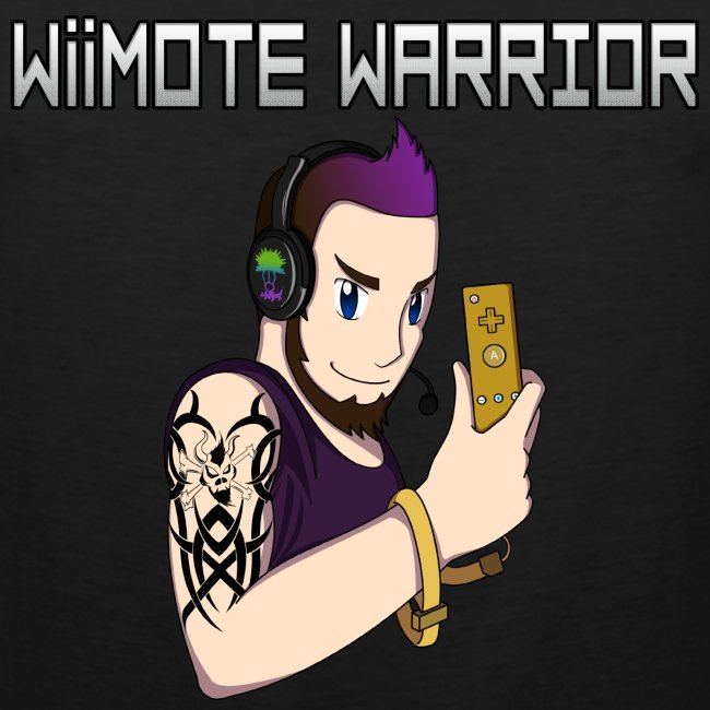 """""""Wiimote Warrior"""" Tank Top"""