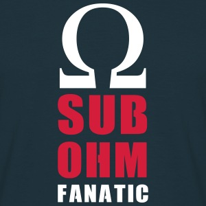 sub ohm fanatic - T-shirt Homme