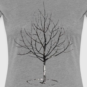 Apple Tree in Winter T-Shirts - Women's Premium T-Shirt