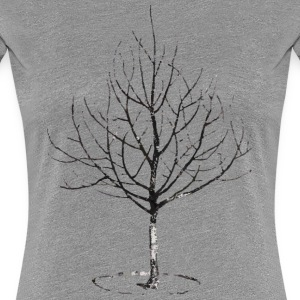 Apple Tree in Winter Tee shirts - T-shirt Premium Femme