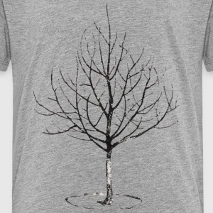Apple Tree in Winter Shirts - Kids' Premium T-Shirt