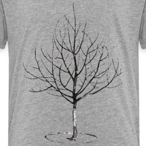 Apple Tree in Winter Shirts - Kinderen Premium T-shirt