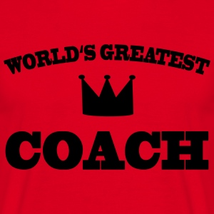 World's greatest Coach T-skjorter - T-skjorte for menn