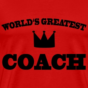 World's greatest Coach T-Shirts - Men's Premium T-Shirt