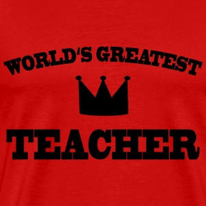World's greatest Teacher Koszulki - Koszulka męska Premium