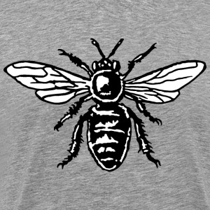 Honey Bee Two-Color Black&White Magliette - Maglietta Premium da uomo