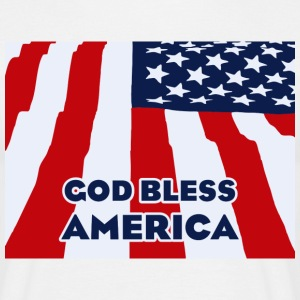 God bless America Tee shirts - T-shirt Homme