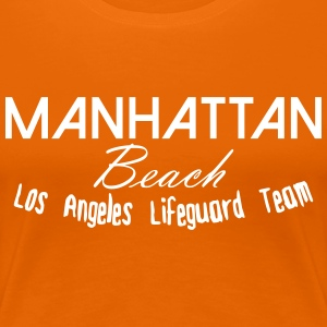 Manhattan Beach T-Shirts - Frauen Premium T-Shirt