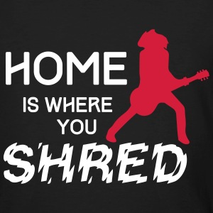 Home is … Les Paul T-Shirts - Männer Bio-T-Shirt