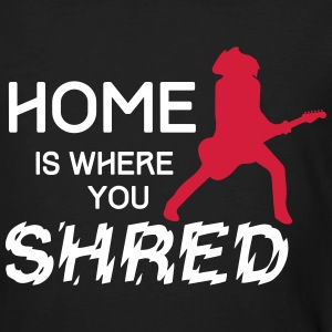 Home is where you shred - Strat T-Shirts - Männer Bio-T-Shirt