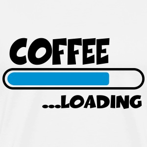 Coffee loading T-Shirts - Men's Premium T-Shirt