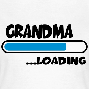 Grandma loading T-Shirts - Frauen T-Shirt