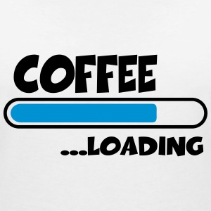 Coffee loading T-Shirts - Women's V-Neck T-Shirt