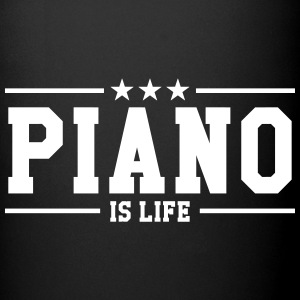 Piano is life Tazze & Accessori - Tazza monocolore