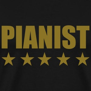 Pianist T-Shirts - Men's Premium T-Shirt