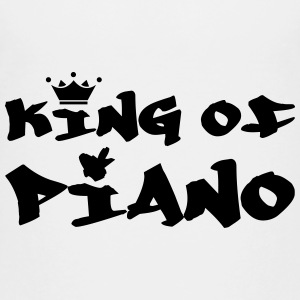 King of Piano Skjorter - Premium T-skjorte for tenåringer