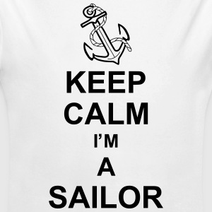 keep_calm_i'm_a_sailor_g1 Pullover & Hoodies - Baby Bio-Langarm-Body
