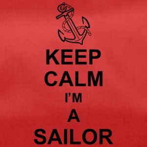 keep_calm_i'm_a_sailor_g1 Borse & zaini - Borsa sportiva