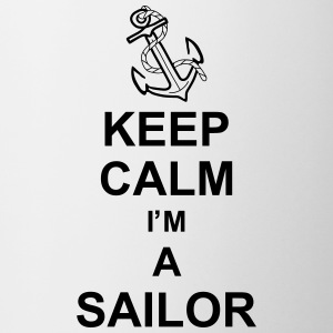keep_calm_i'm_a_sailor_g1 Krus & tilbehør - Kop/krus