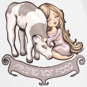 White friend not food  Aprons - Cooking Apron