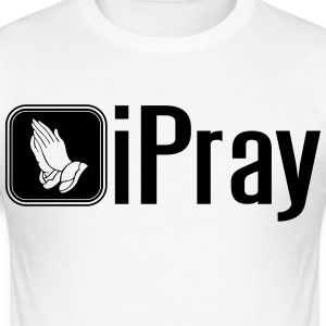 iPray T-Shirts - Männer Slim Fit T-Shirt