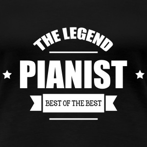 Pianist T-Shirts - Frauen Premium T-Shirt