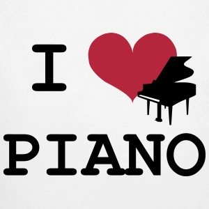 I Love Piano Pullover & Hoodies - Baby Bio-Langarm-Body
