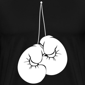 Boxing gloves on the nail 2.0 T-Shirts - Men's Premium T-Shirt