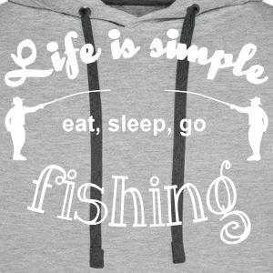 Life is simple Pullover & Hoodies - Männer Premium Hoodie