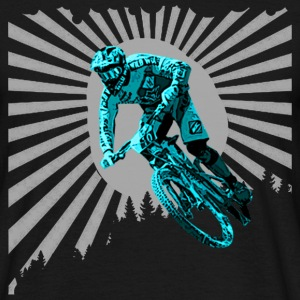 Blue bike T-Shirts - Men's T-Shirt
