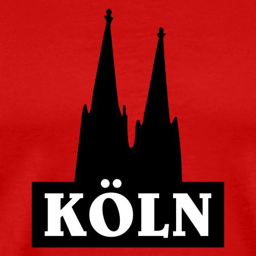 Köln Dom zweifarbig