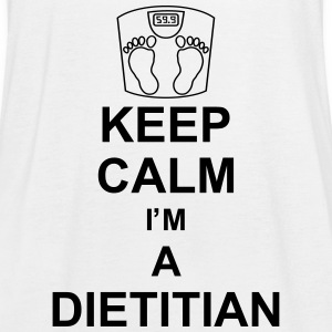 keep_calm_i'm_a_dietitian_g1 Topy - Tank top damski Bella