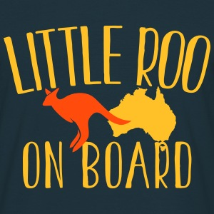 Little Roo on Board (Australian Aussie kangaroo) T-Shirts - Men's T-Shirt