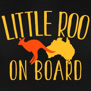 Little Roo on Board (Australian Aussie kangaroo) T-Shirts - Women's Premium T-Shirt