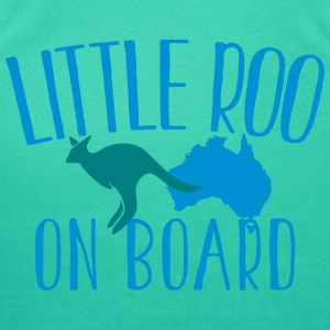 Little Roo on Board (Australian Aussie kangaroo) T-Shirts - Women's Scoop Neck T-Shirt