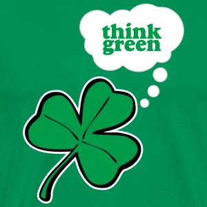 Think green T-Shirts - Men's Premium T-Shirt