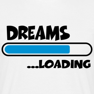 Dreams loading T-shirts - Herre-T-shirt
