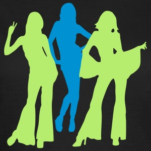 70s and 80s woman and girls iii T-Shirts - Frauen T-Shirt